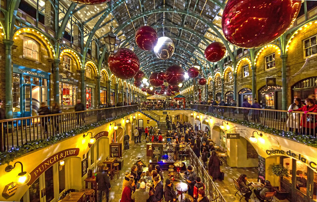 London Lights And Covent Garden At Christmas Theatre Trips Kent London Shows